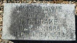 Minnie <i>Hayne</i> Drake