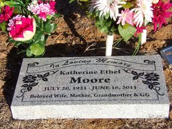 Katherine Ethel Davis-Barnard <i>Moore</i> Hamilton
