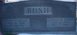 Mary Charlotte Lottie <i>Givens</i> Bush