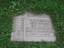 Mary Ethel <i>Shakespeare</i> Monson