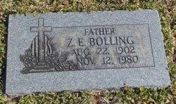 Z E Bolling