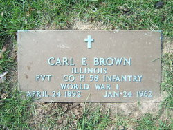Pvt Carl E. Brown