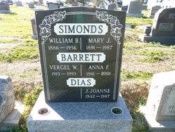 Anna F. Ann <i>Simonds</i> Barrett