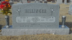 Alvin A Billinger