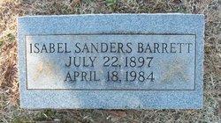 Isabella <i>Sanders</i> Barrett