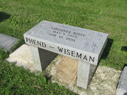 Virginia Rose <i>Phend</i> Wiseman