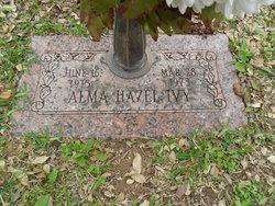 Alma Hazel <i>Pruett</i> Ivy
