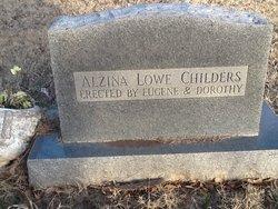 Mrs Alzina <i>Lowe</i> Childers