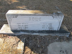 Mary Alice <i>Luke</i> Rowe