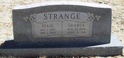 Florence Ellie <i>Coffey</i> Strange