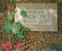 Abram Rowley