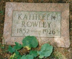 Catherine Cathleen <i>Gravenstein or Grabenstein</i> Rowley