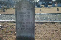 Adaline <i>Messenger</i> Church