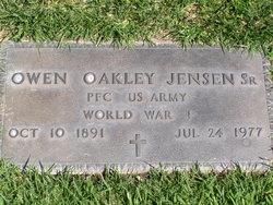 Owen Oakley Jensen, Sr