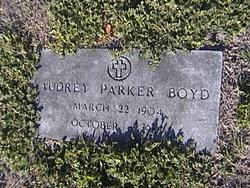 Audrey Alice <i>Parker</i> Boyd