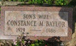 Constance M <i>Benner</i> Baylor