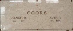 Henry Bernard Harry Coors