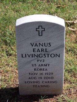 Vanus Earl Livingston