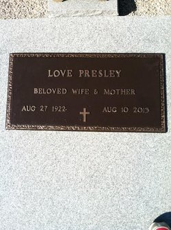 Love <i>Lankford</i> Presley