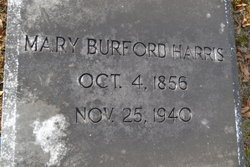 Mary Emma <i>Burford</i> Harris
