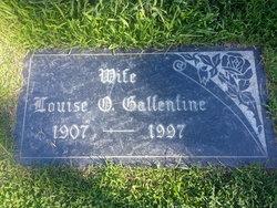Louise O. <i>Osborn</i> Gallentine