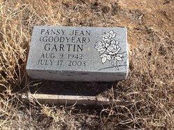 Pansy Jean <i>Goodyear</i> Gartin
