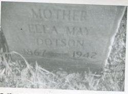 Ellla May <i>Cottrill</i> Dotson