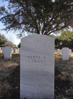 Berta Katherine Barnes