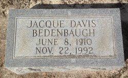 Jacque <i>Davis</i> Bedenbaugh