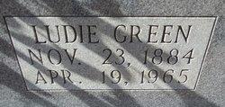 Ludie <i>Green</i> Lindsay