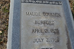 Maude Toulmin Burford