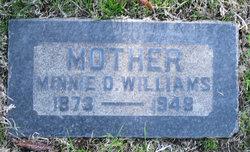 Minnie D. <i>McCante</i> Williams