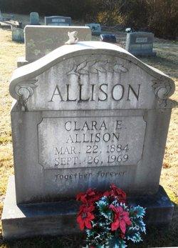 Clara Ellen <i>Lyday</i> Allison
