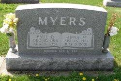 Paul D Myers