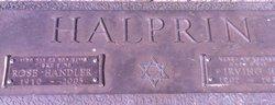 Irving H Halprin