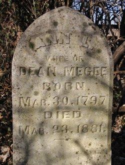 Ann L <i>Moore</i> Megee
