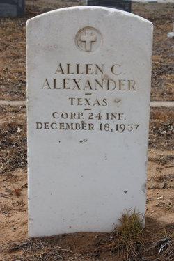 Allen C. Alexander