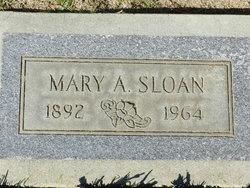 Mary Alfreda <i>Barrell</i> Sloan
