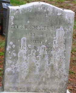 Rev S. Winchester Adriance