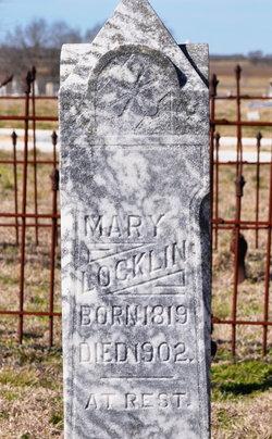 Mary Elizabeth <i>Fokes</i> Locklin