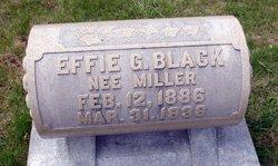 Effie G <i>Miller</i> Black