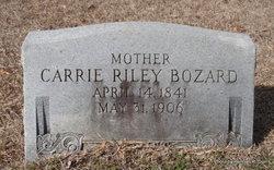 Caroline 'Carrie' <i>Riley</i> Bozard