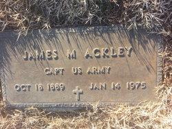 Dr James M. Ackley