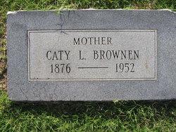 Katherine Laura Elizabeth Caty <i>Parnell</i> Brownen