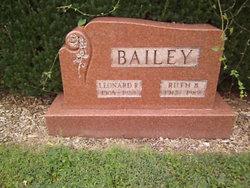 Ruth B <i>Cook</i> Bailey