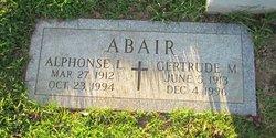 Gertrude May <i>Gokey</i> Abair