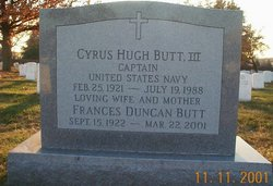 Frances D Butt