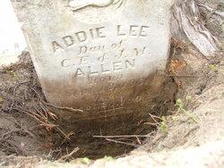 Addie Lee Allen