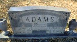 Flora Ellen <i>Whitley</i> Adams