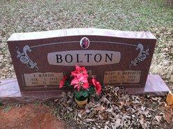 Mary Ella <i>Meredith</i> Bolton